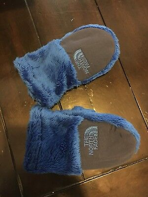 Never Worn Toddler Blue Fleece Mittens size large
