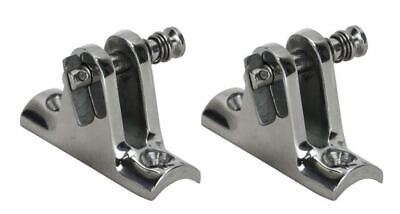 Boat canopy Boat Bimini Quick Release Rail Mount Clamps x 2 Stainless Steel 316G