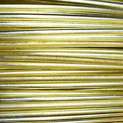 Assorted Lengths Offcuts 0.71, 0.91, 1.42,  1.75,  2mm Bare Uncoated Brass Wire