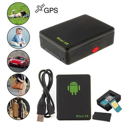 gps tracker mini a8 gps sender ortung peilsender kfz auto. Black Bedroom Furniture Sets. Home Design Ideas