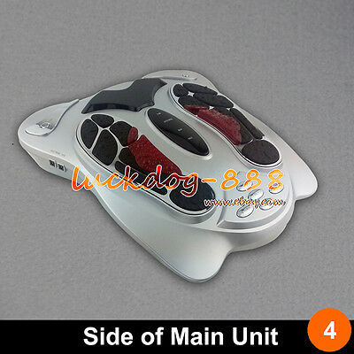 Hot Sale! Electromagnetic Pulse Foot Massager Reflexology Booster Remote Control