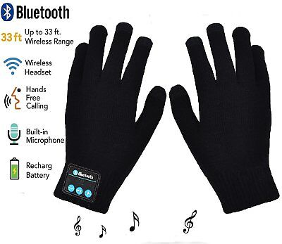 Gloves Wireless Bluetooth Winter with Hands Call Talking & Music