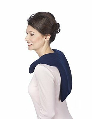 NEW Sunny Bay Microwavable Shoulder and Upper Back Heat Wrap, Leopard, Large