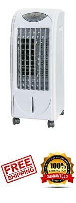 Portable Room Air Indoor Cooler Fan Evaporative Unit With 3D Cooling Pad