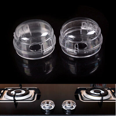 Kids Safety 2Pcs Home Kitchen Stove And Oven Knob Cover Protection JS