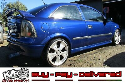 2004 Holden TS Astra Coupe Z18XE Rear Back Left Brake Caliper Hub 4 Stud KLR