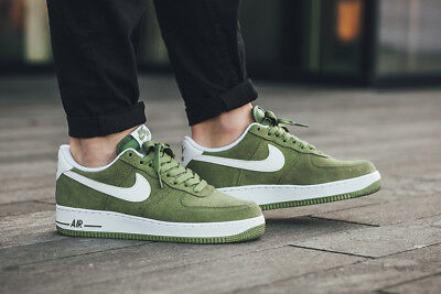 MENS NIKE AIR Force 1 07 Low Rare Sneakers New, Palm Green