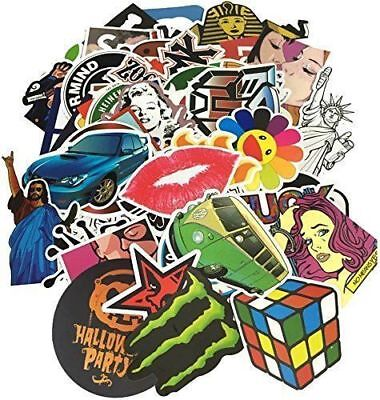 50-500 Random Stickers Vinyl Skateboard Guitar Travel Case sticker pack decals