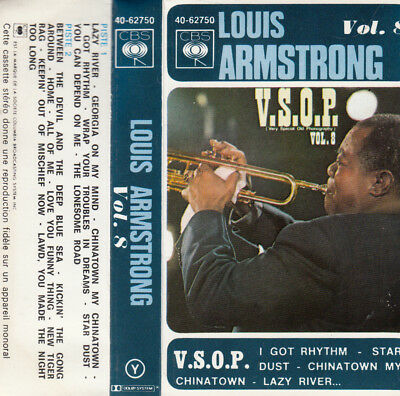 K 7 Audio (Tape) Louis Armstrong  *Lazy River*