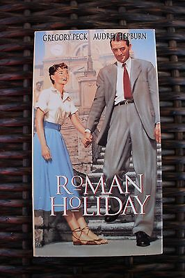 Roman Holiday Classic Musical Film VHS Audrey Hepburn Gregory Peck