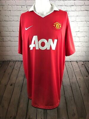 separation shoes f7005 53512 MANCHESTER UNITED 2010-2011 Official Nike Football Jersey ...
