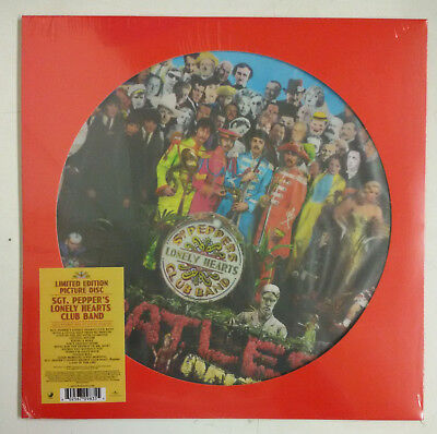The Beatles Sgt. Peppers Lonely Hearts Club Band LP Europa 2017 Fotodisco