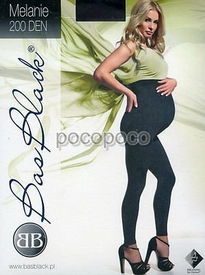 Leggings Maternity 200 Den Bas Black Art. Melanie