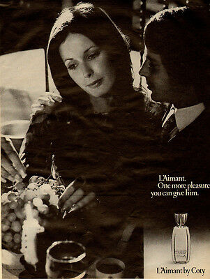 1971 vintage ad for L'Aimant by Coty, Men's Cologne  -112211