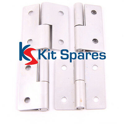 Stainless Steel Lift off Hinges (4) Kit Car, Race Car, Rally Cars EXT0043