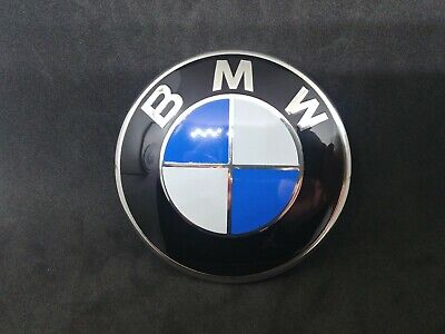 Stemma  badge bmw nuovo cofano 82 mm SERIE 1 / 5 / f 10 11 / 6 / laterale z4