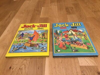 Jack and Jill Annuals 1979 1981