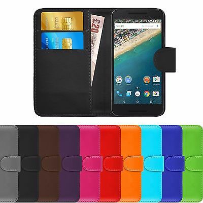 New Genuine Leather Wallet Phone Case Cover FOR SAMSUNG GALAXY J3 2017
