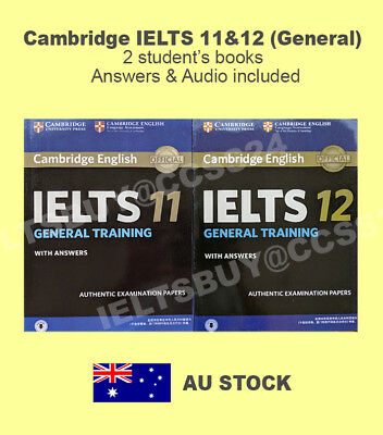 Cambridge IELTS General 11&12 Two Books  & Audio