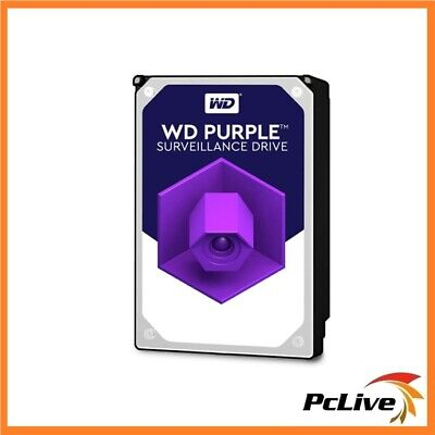 "Western Digital WD Purple 4TB Surveillance Hard Drive SATA 64MB Cache 3.5"" HDD"