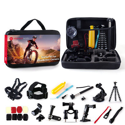 Accessories Starter Kit for Gopro Hero 6/4/3/2/fusion/Session with 26 - Pieces