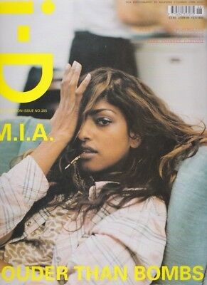 M.I.A by Wolfgang Tillmans / Vintage Id i-d Magazine 255 2005