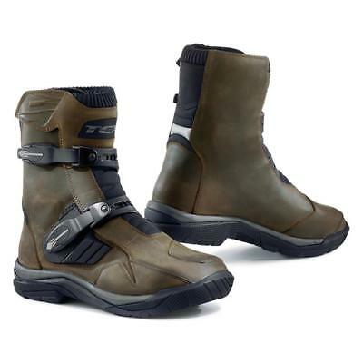 Stivali Touring Adventure Tcx Baja Mid Waterproof In Pelle Impermeabili Tg. 41