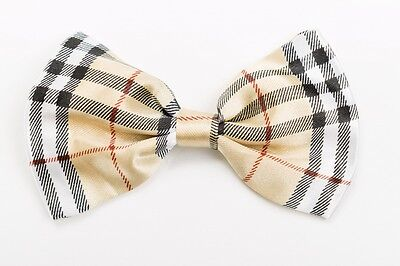 Young boy bow tie.  British Golden Plaid.  Ships USA.   Receive 3-5 days