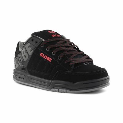 Sports Chaussures Baskets Black Red Knit Globe Tilt xZ6nzz