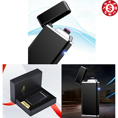 Atomic Lighter Dual Arc Plasma USB Rechargeable Electric Flameless Windproof