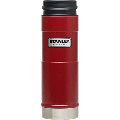 Stanley Coffee Thermos Vacuum Mug Bottle Stainless Steel Hammerton Red 16OZ NEW