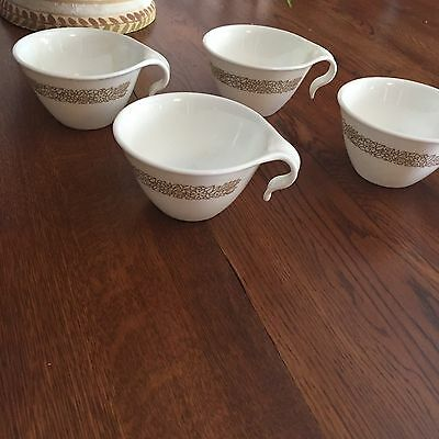 Vintage Pyrex Coffee Cups Corning Corelle Saucers Cups Mugs Lot 11 Pcs