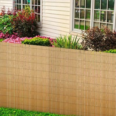New High-quality Reed Fence Garden Balcony 150/190cm Outdoor Private Decor Blind