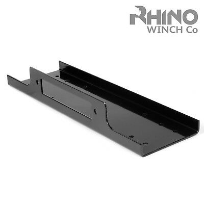 Winch Mounting Plate Tray Compact Heavy Duty - 8000lb to 15000lb 4x4 Rhino Winch