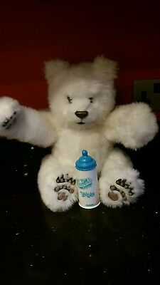 Fur Real White Animated Polar Bear Luv Cub 16 Inches By Tiger Hasbro