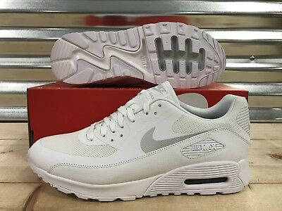 NIKE AIR MAX 90 Ultra 2.0 Triple White Ease Running Shoes
