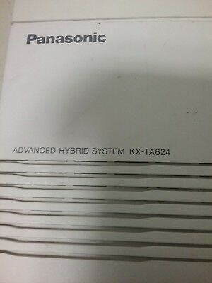 Panasonic Kx-Ta624 Advanced Hybrid 3X8 Telephone System
