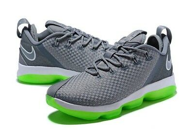 detailed look ce504 29a70 Nike LEBRON XIV 14 Low Dunkman DS Basketball Shoe Gray 878636 005 Mens Sizes  NEW