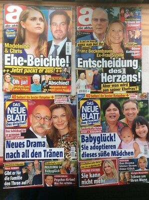 4 zeitschriften die aktuelle sch ne woche ua illustrierte jan feb 2018 eur 1 00. Black Bedroom Furniture Sets. Home Design Ideas