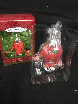 Bugs Bunny and Gossamer 2000 Hallmark Keepsake Looney Tunes Ornament Cartoon NEW