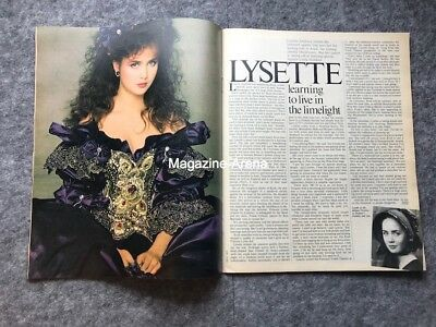 Lysette Anthony / Susan Hampshire / Vintage 1 day only Magazine