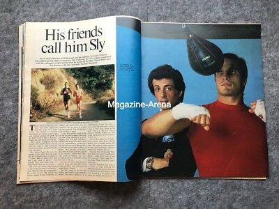 Sylvester Stallone / Call him Sly /  Vintage 1 day only Magazine