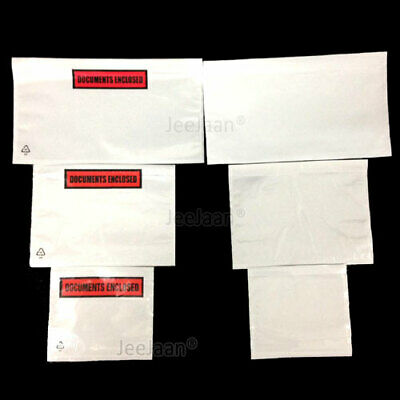 DOCUMENTS ENCLOSED WALLETS~Envelopes~Printed & Plain~A7~A6~A5~A4~DL