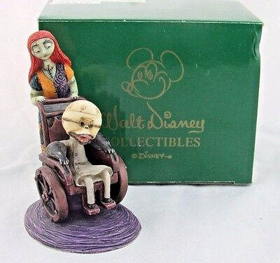 Harmony Kingdom Dr Finklestein and Sally, Nightmare Before Christmas, Limited Ed