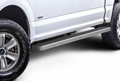 """iBoard Running Boards 4"""" Fit 15-18 Ford F150 SuperCrew Cab / 17-18 F250"""