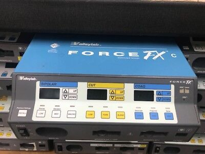 Valleylab Force FX C series generator - Includes Foot Switches ~ Biomed Tested