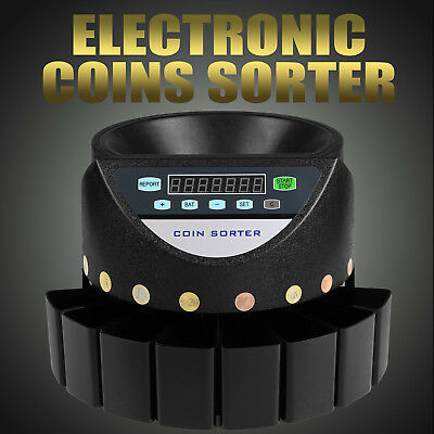 Compteuse Trieuse De Euro PièCes Precision Digital Machine Cash Currency Great