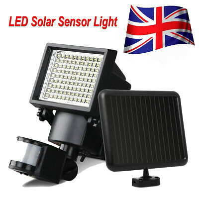 Outdoor Solar Power Motion Sensor Garden Floodlight LED PIR Security Light save