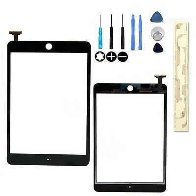 Touch Screen Digitizer Front Glass for IPAD MINI 1&2  Replacement Black