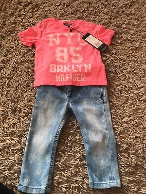 Tommy Hilfiger Outfit Size 74 6/9Months